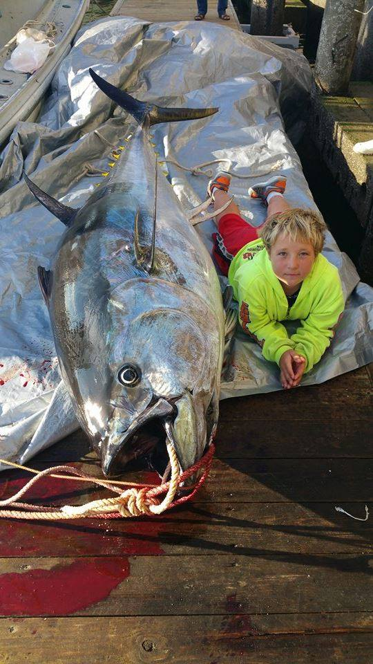 Jackson nicoll shares a recent catch with us fishing for Deep sea fishing hampton nh